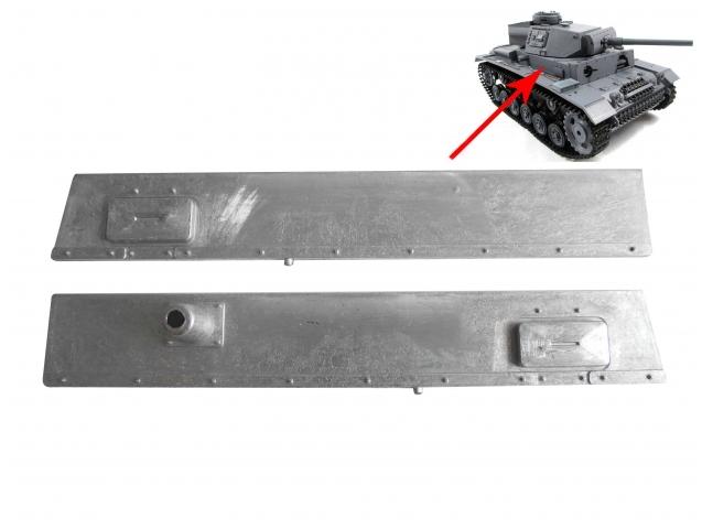 Mato 1:16 1//16 RC Panzer III Cupola Metal Machine Gun